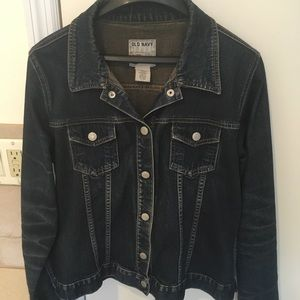 Old navy jean jacket- size large